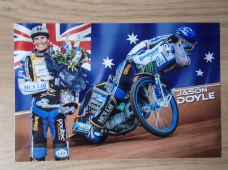 Jason Doyle Signed Photocard